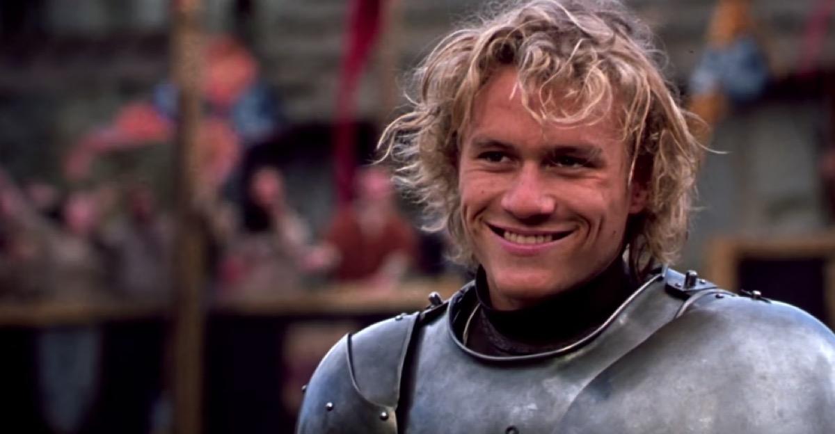 A Knights Tale Heath Ledger movie