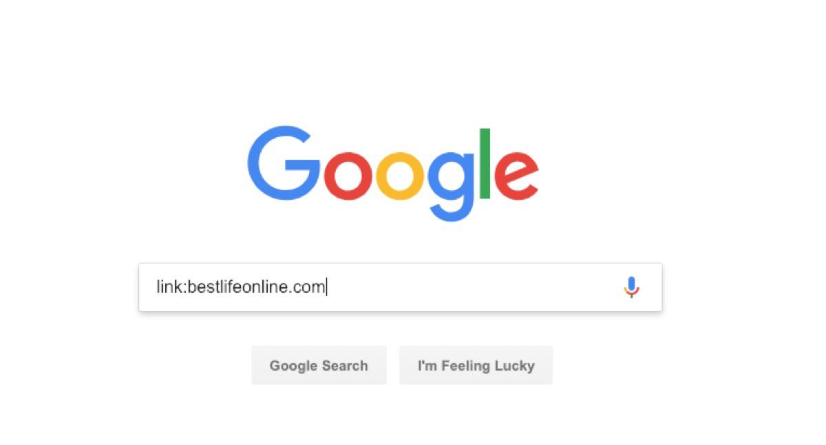 google link search - google tricks