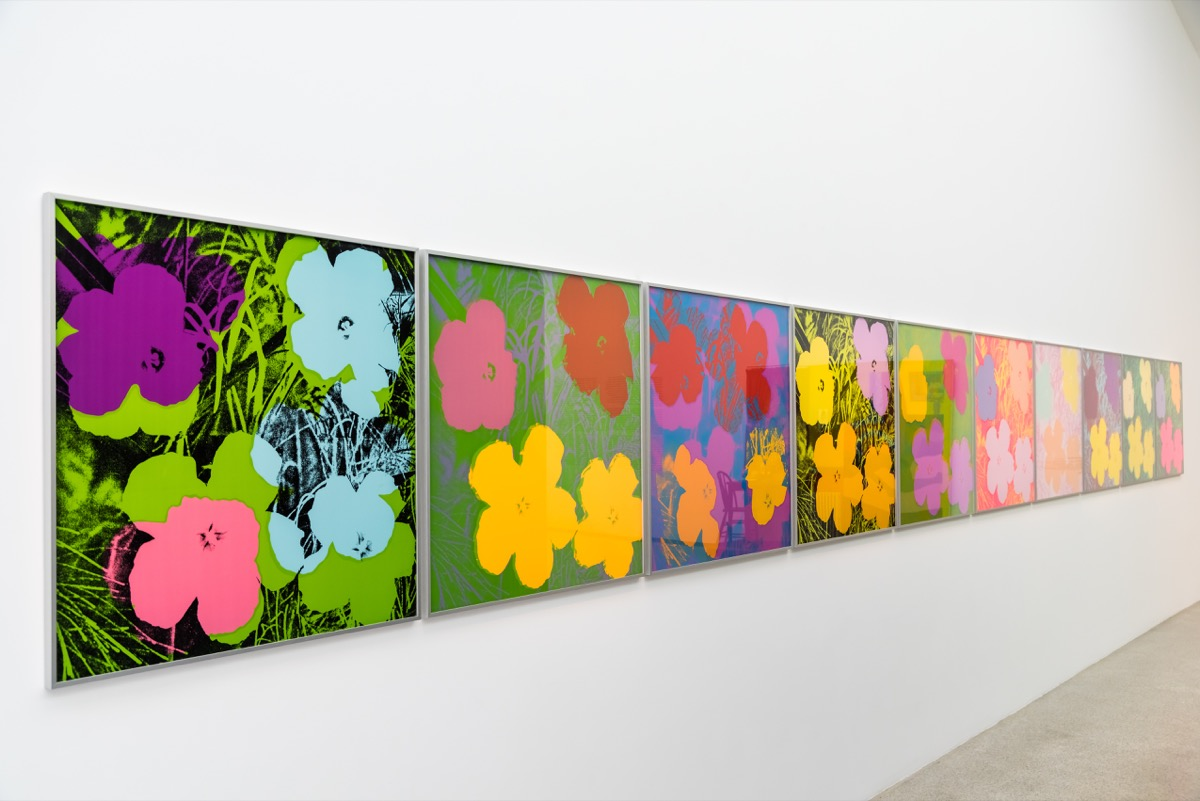 andy warhol paintings in a museum, crazy facts