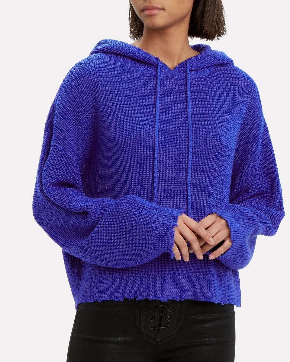 athleisure hoodie - intermix