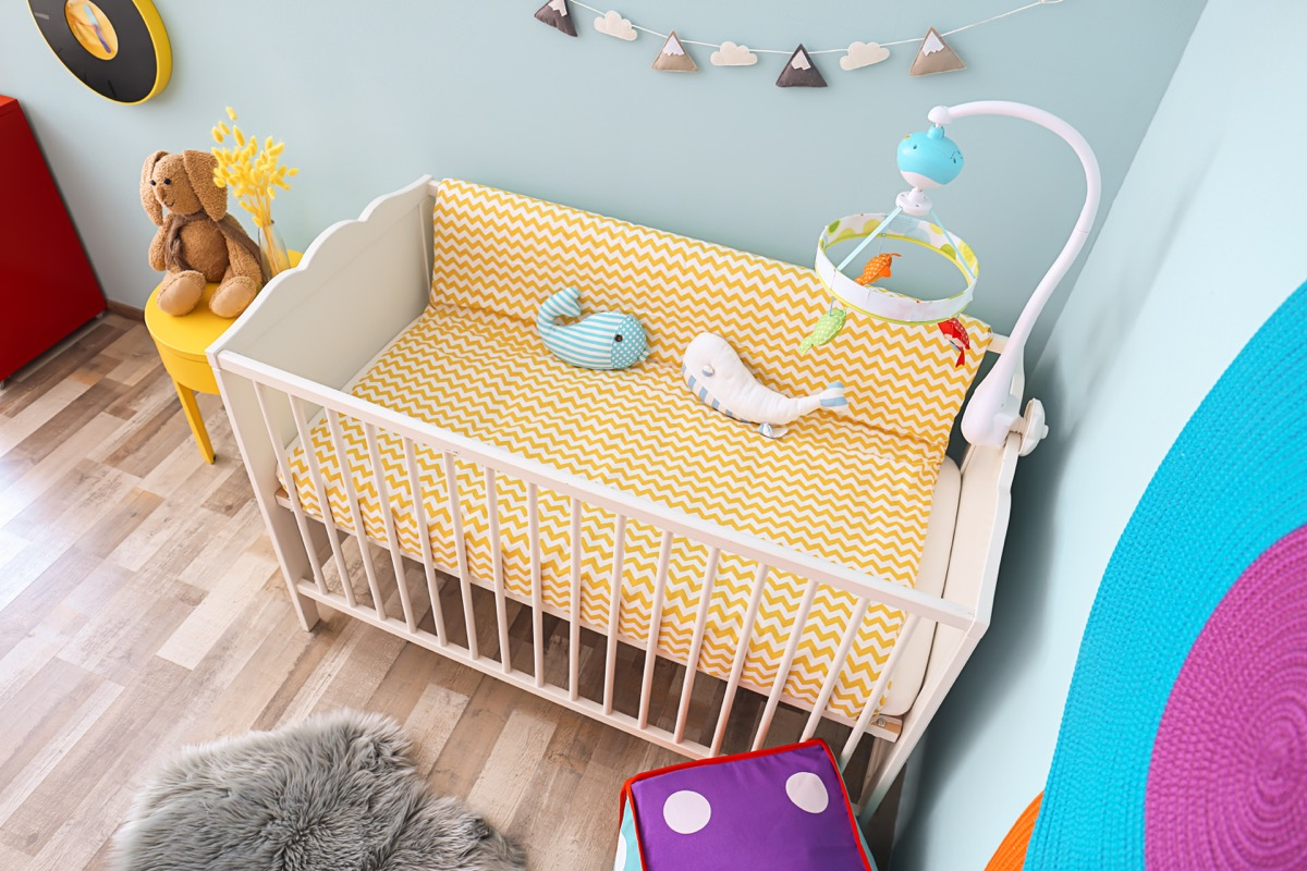 Baby Crib in a Baby's Room {Never Buy on Craigslist}
