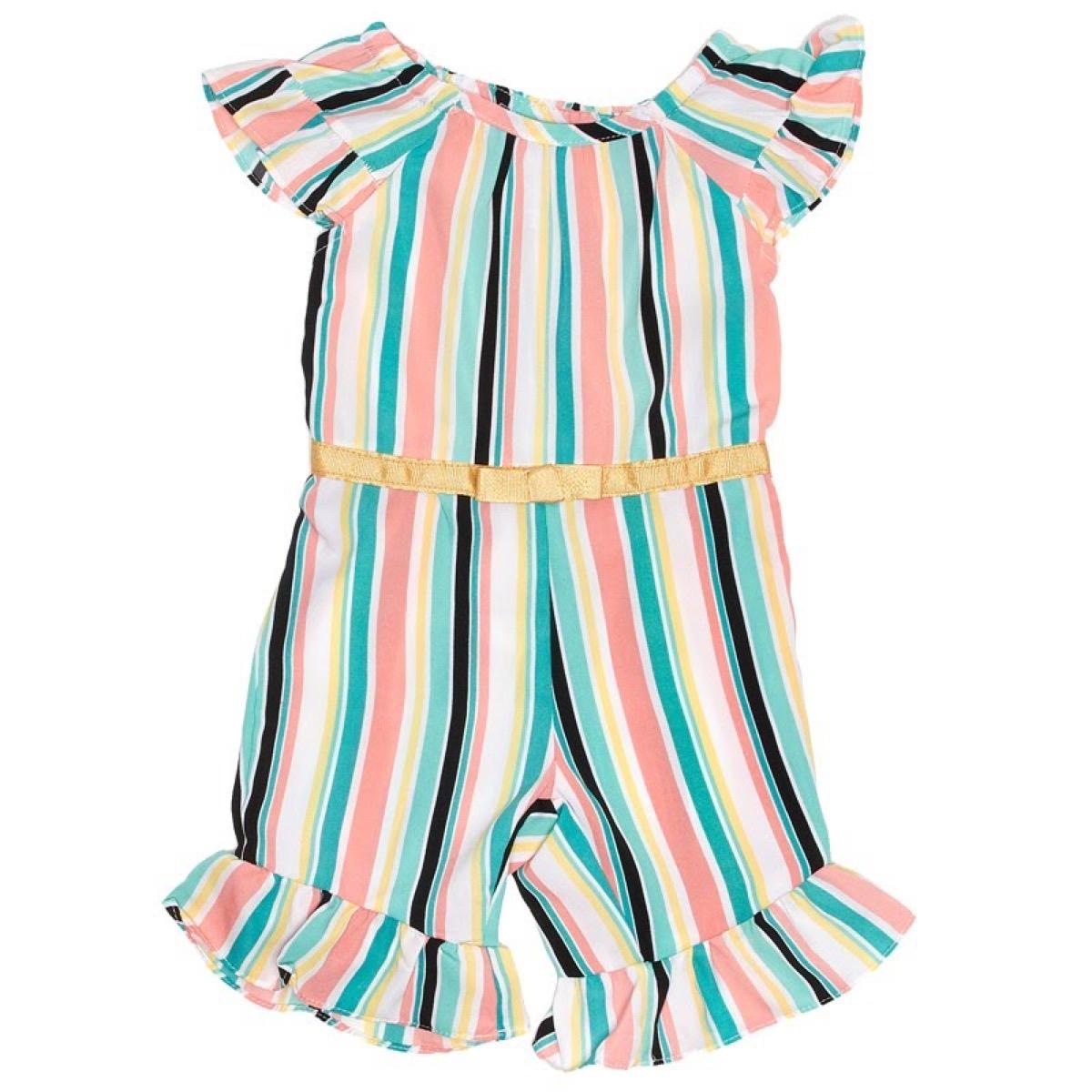 Burlington Coat Factory Stripe Jumpsuit {Save Money on Kids' Clothes}