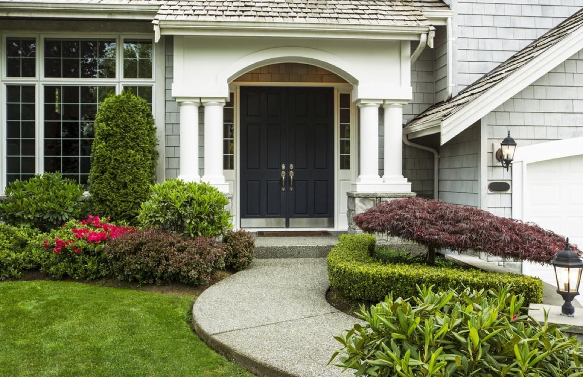 black door home upgrades with best return