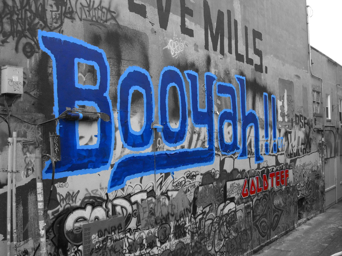 Booyah Capitol Theatre Free Wall