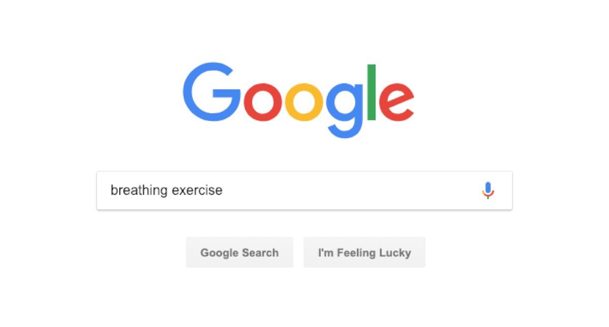 google stress search - google tricks