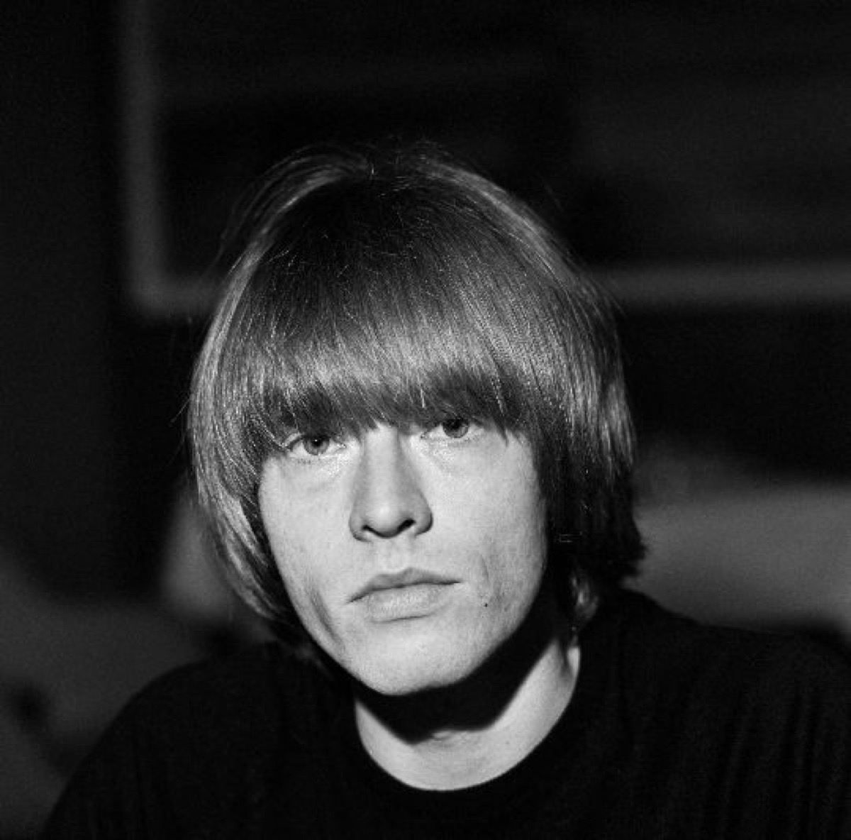 Photograph of Brian Jones of The Rolling Stones during the band's visit to Finland.