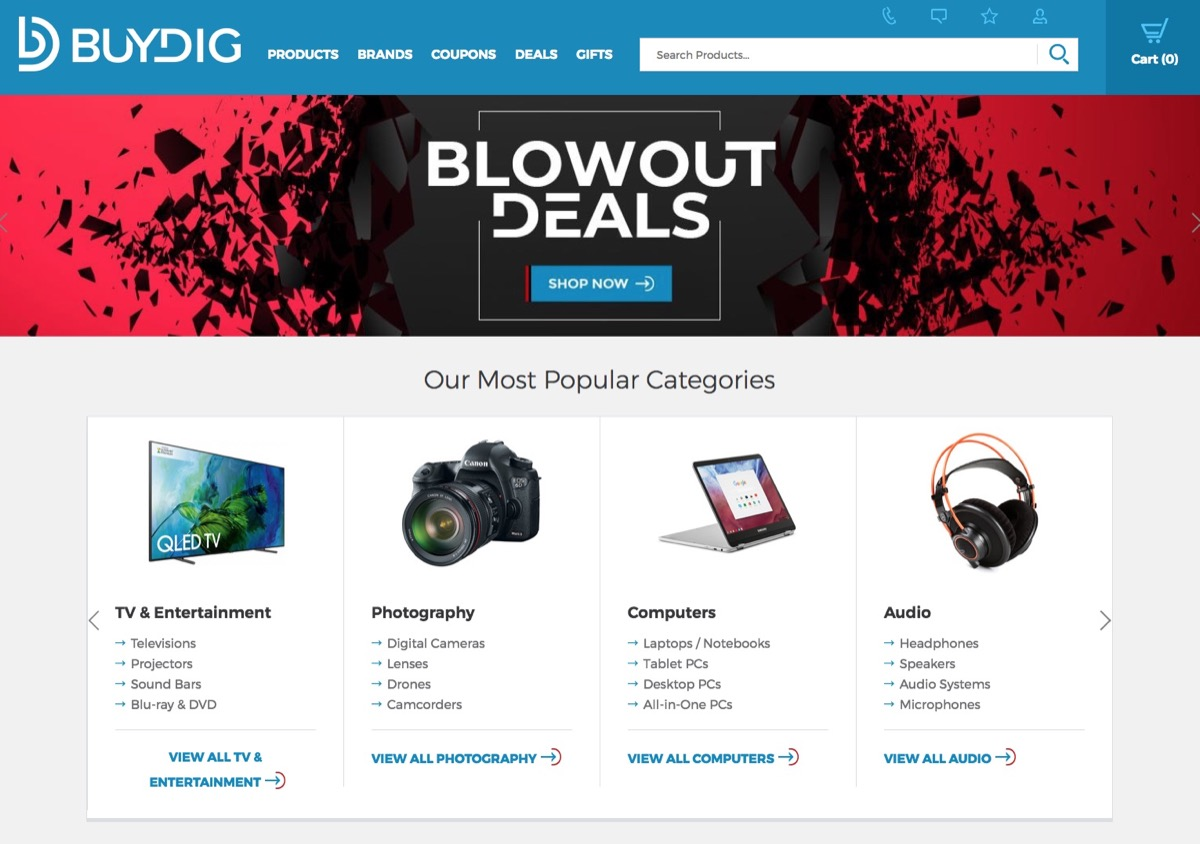 Buydig Website Page {Save Money on Electronics}