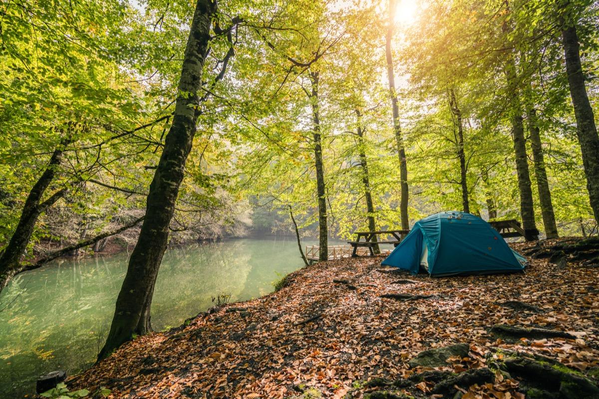 Camping in Bolu yedigöller national park