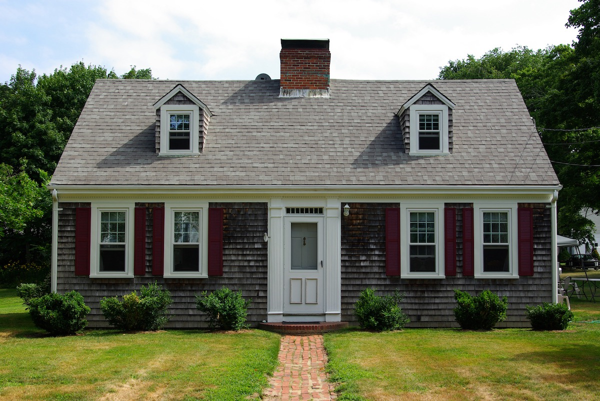 Cape Cod Home massachusetts most popular house styles