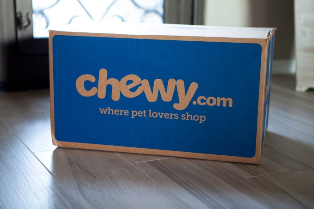 Box of Dog Food From Chewy {Best Places For Cheap Dog Food}