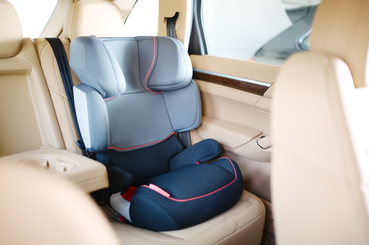 Baby Car Seat in a Car {Never Buy on Craigslist}