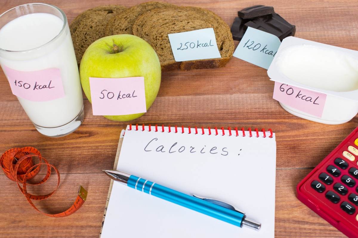 Food Labeled with Calories {Health Mistakes}