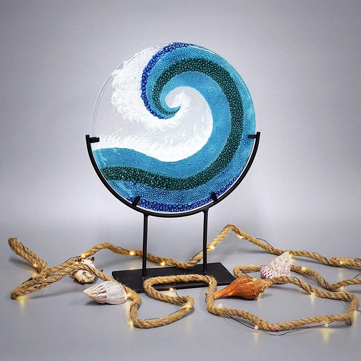 Crashing Waves Statue {Handmade Items From Amazon}