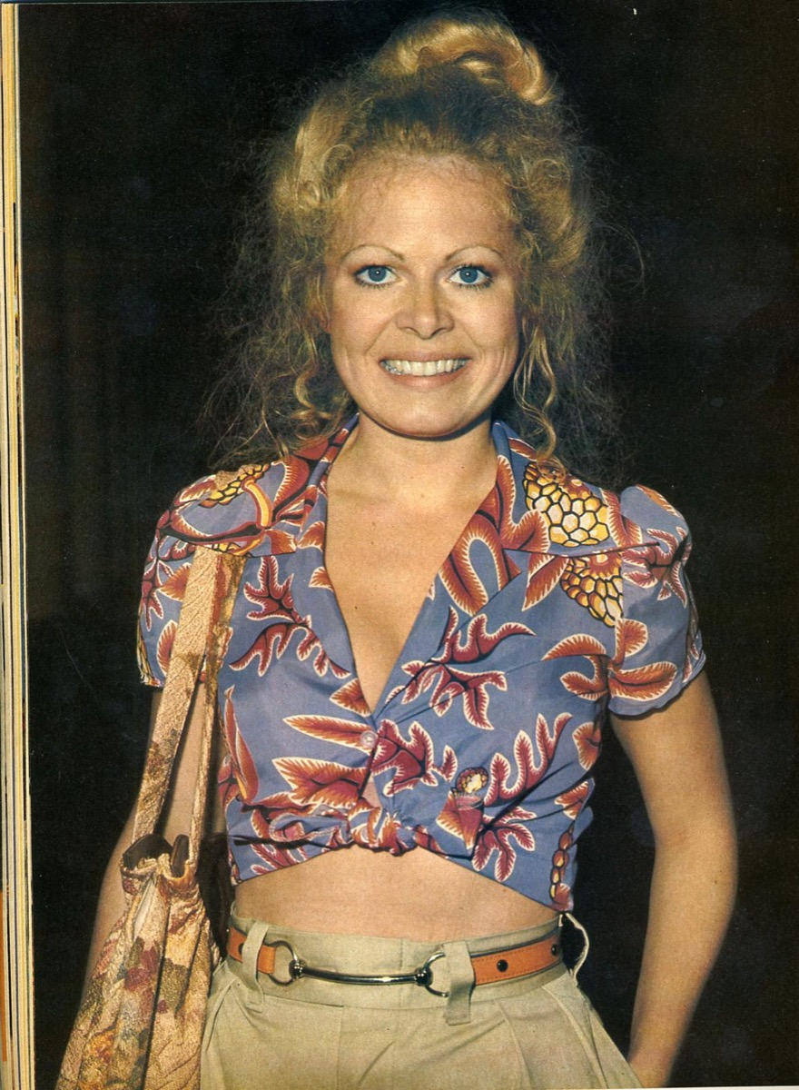 70s Crop Top Sally Struthers {Style Through the Years}