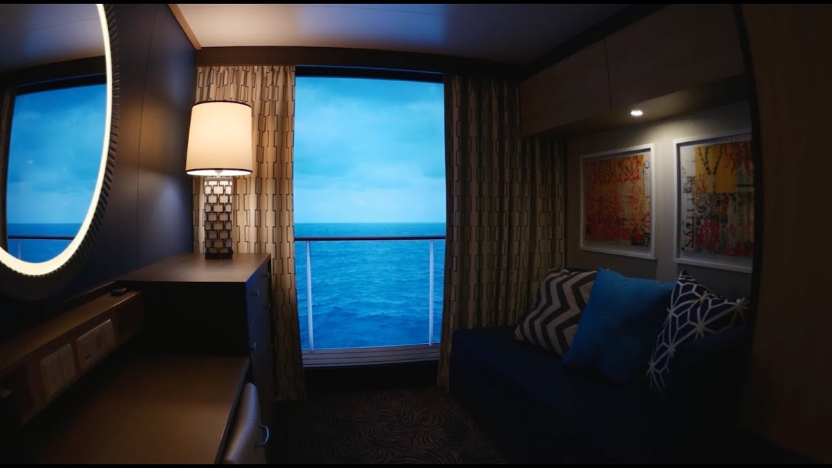 Virtual balcony cruise ship facts
