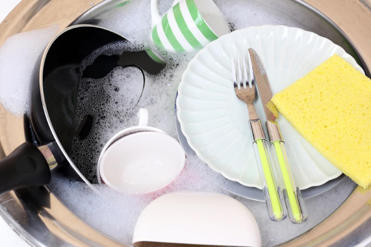 dish washing hacks