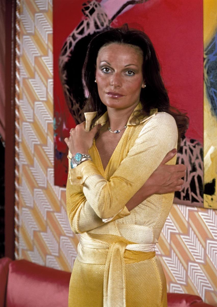 Diane Von Furstenberg Wrap Dress 1970s {Style Through the Years}
