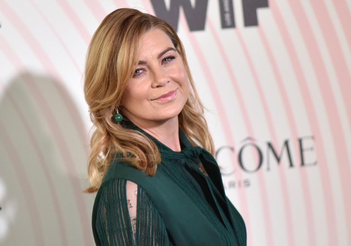 vegan celebrities - LOS ANGELES - JUN 13: Ellen Pompeo arrives for the WIF 2018 Crystal + Lucy Awards on June 13, 2018 in Beverly Hills, CA - Image