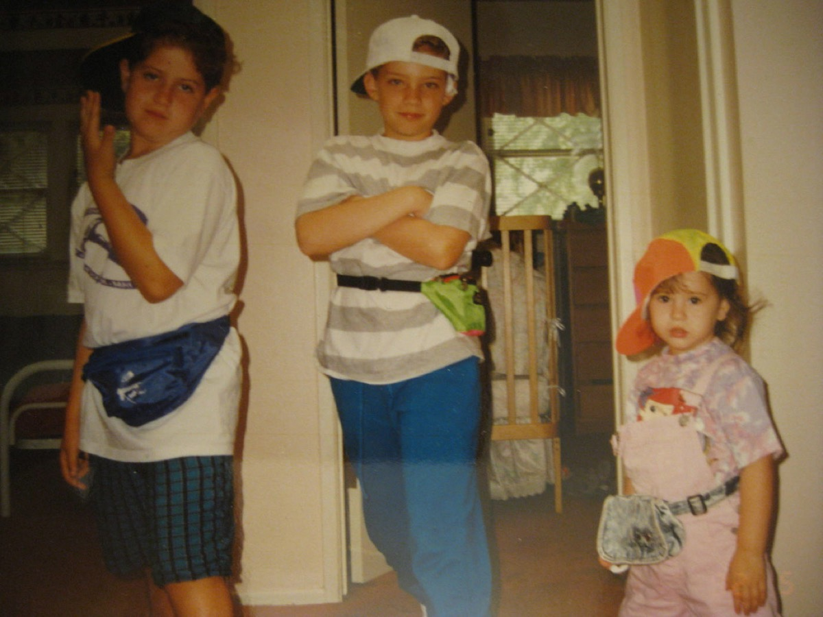 Kids in Fanny Packs {Style Through the Years}