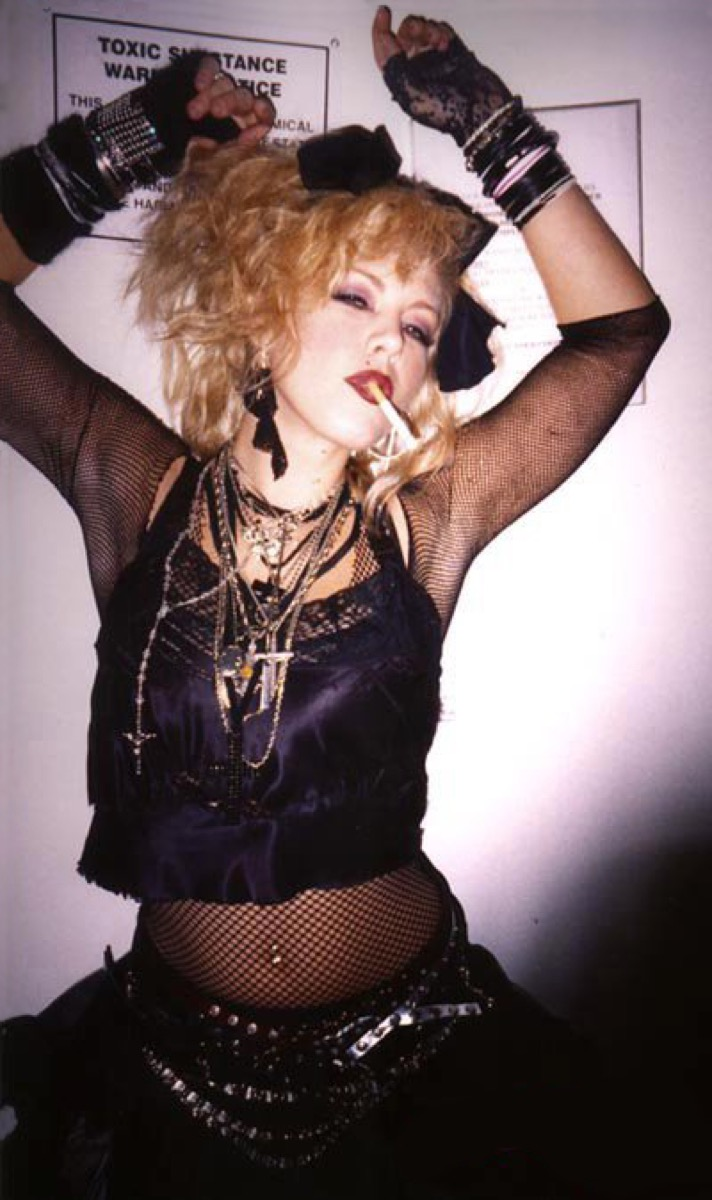 Fishnet Style in the 1980s {Style Through the Years}
