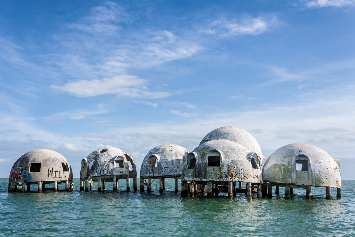 Florida dome homes creepiest abandoned buildings