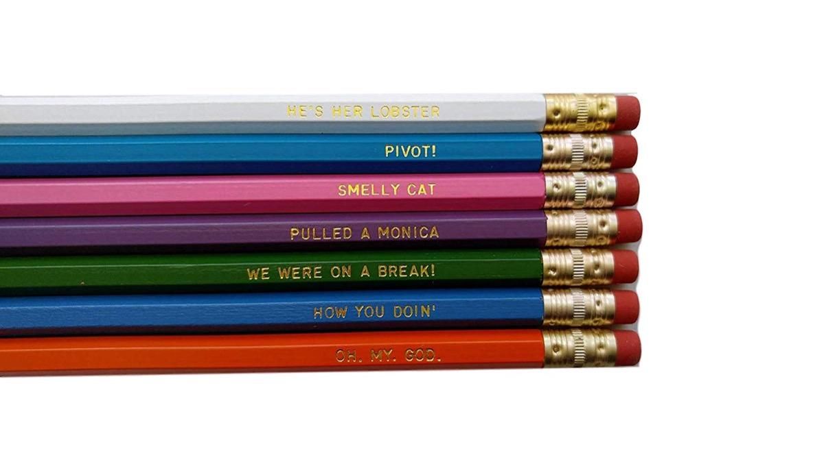Friends pencils {Handmade Items From Amazon}