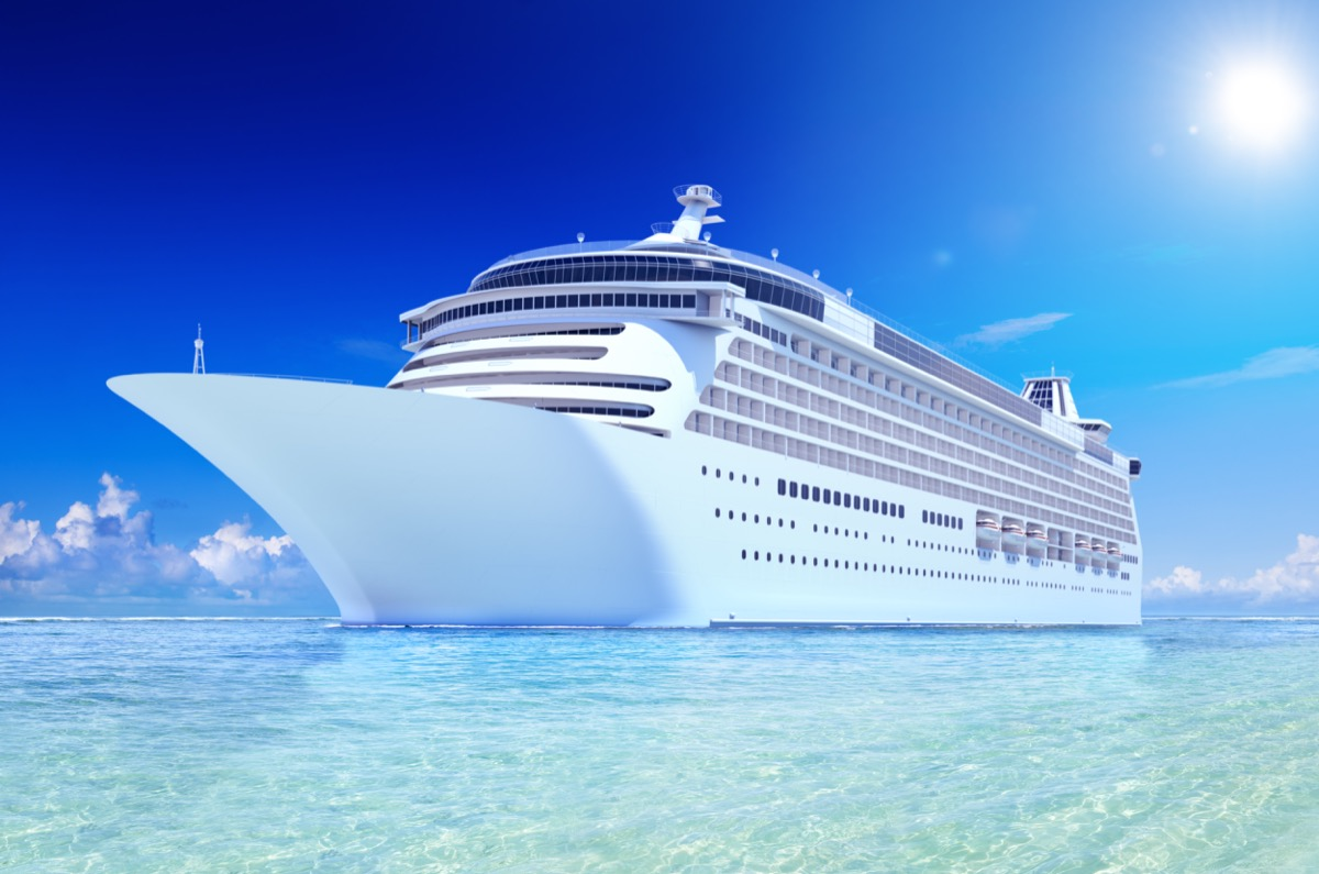 Futuristic cruise ship facts