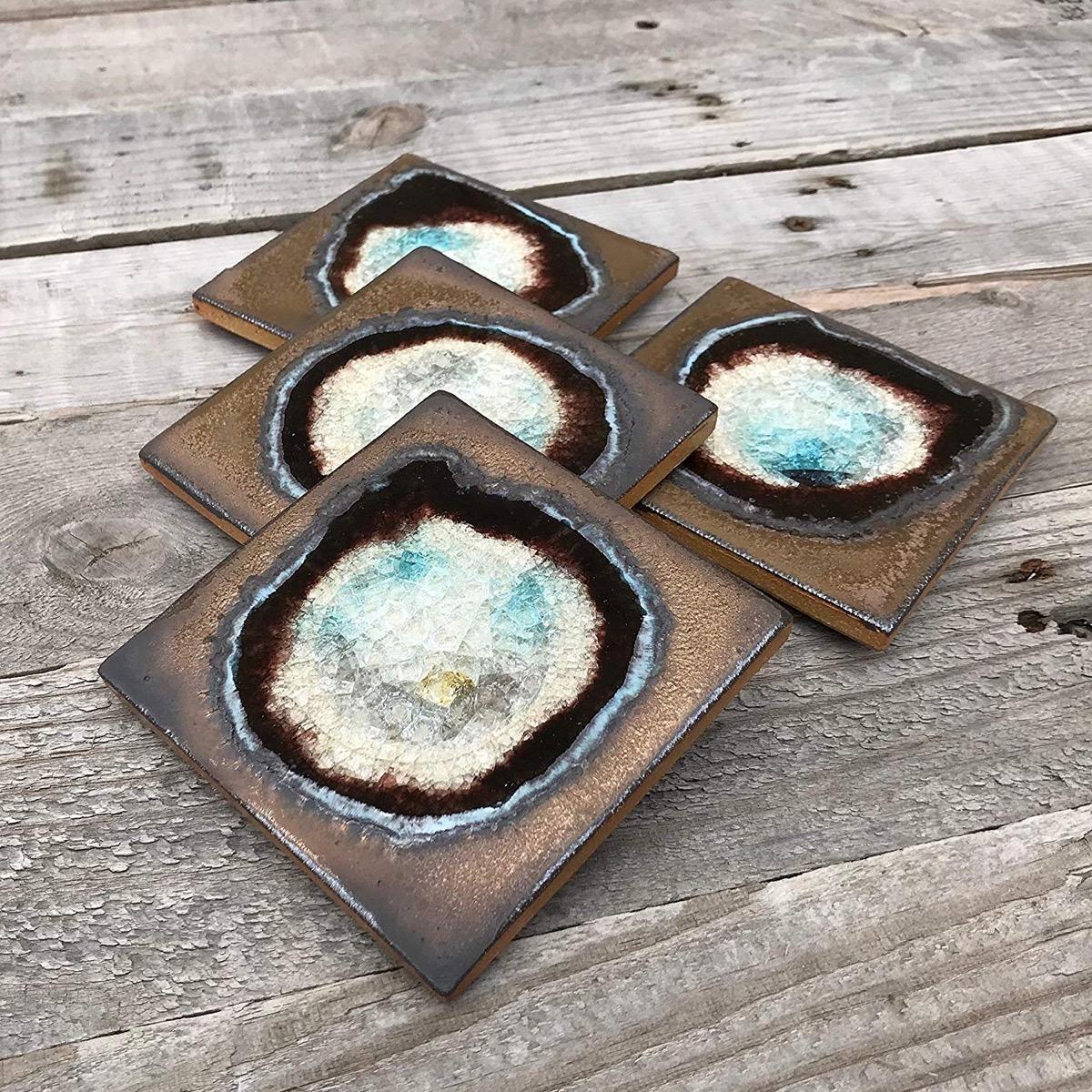 Geode Coasters {Handmade Items from Amazon}