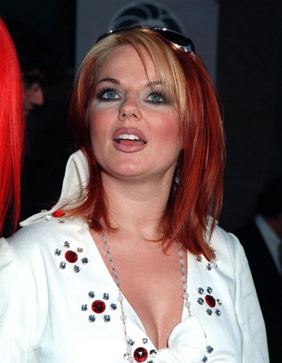 Geri Halliwell most popular hairstyles
