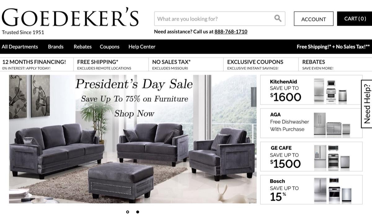 Goedeker's Website {Save Money on Kitchen Appliances}