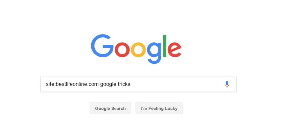 google site search - google tricks