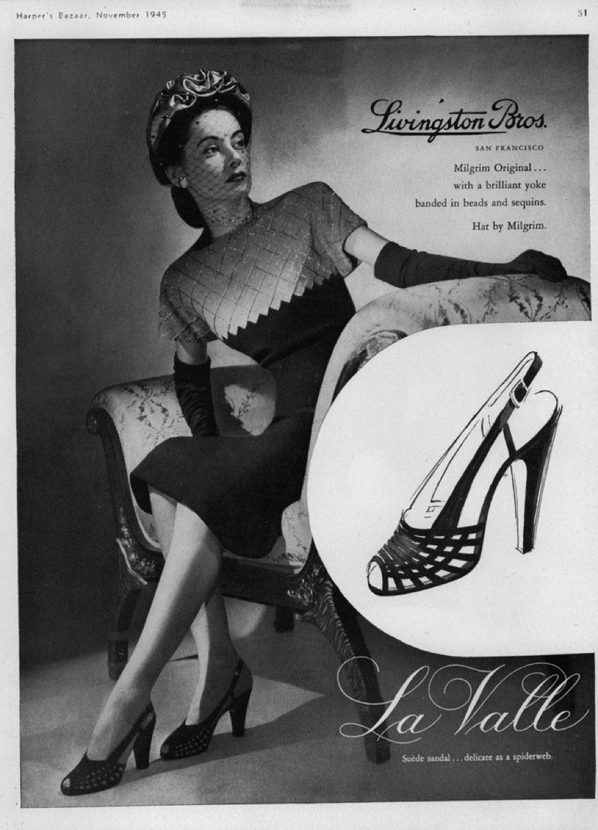 Strappy Heels 1940s
