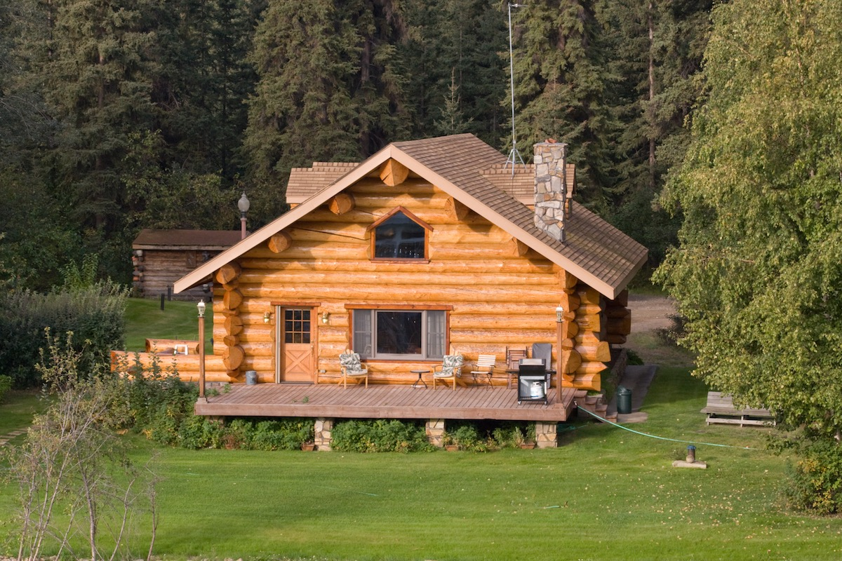 Home in Alaska most popular house styles