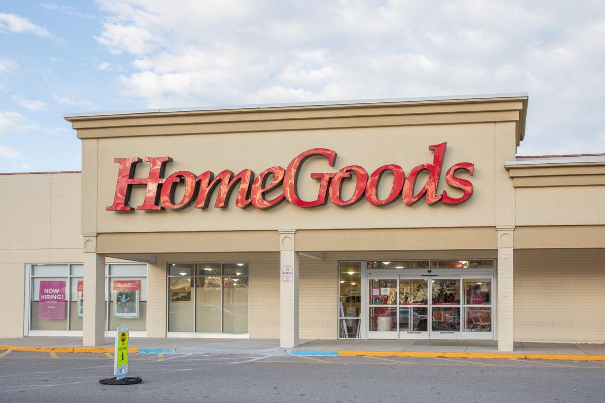 HomeGoods Storefront