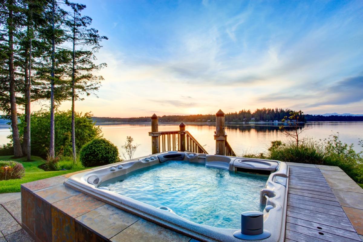 hot tub, home upgrades