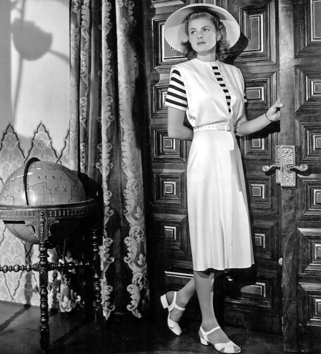 CASABLANCA 1942 Warner Bros film with Ingrid Bergman
