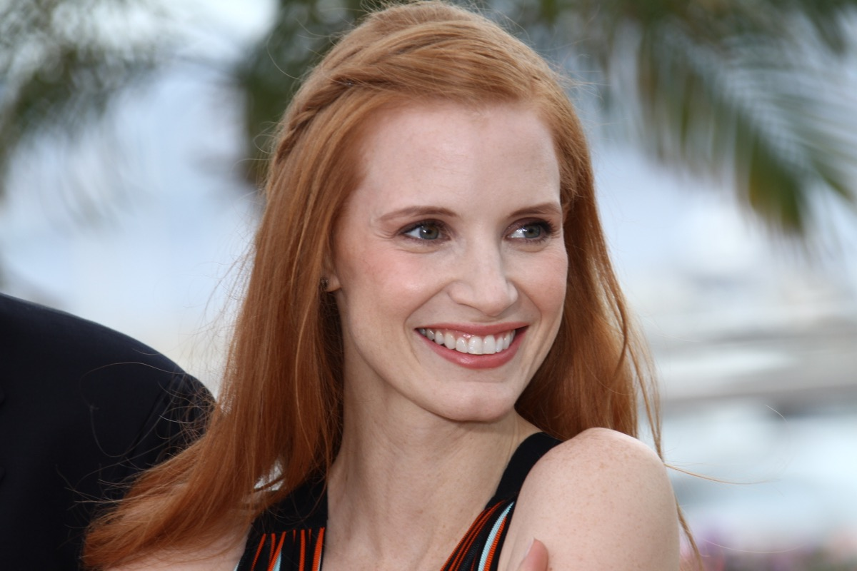 vegan celebrities - Jessica Chastain attends the 'Lawless' Photocall during the 65th Annual Cannes Film Festival at Palais des Festivals on May 19, 2012 in Cannes, France. - Image