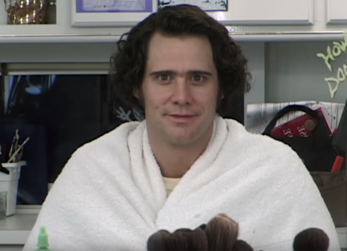 In 1999, Jim Carrey portrayed his idol Andy Kaufman in