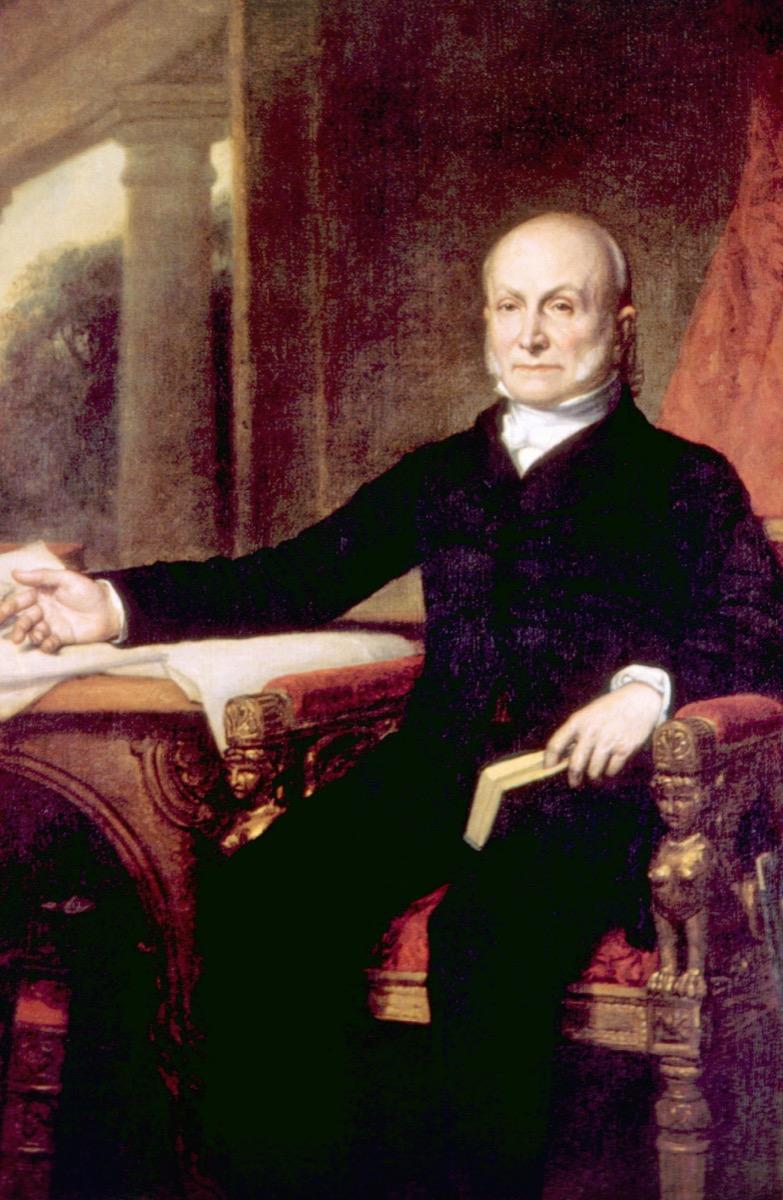 John Quincy Adams president