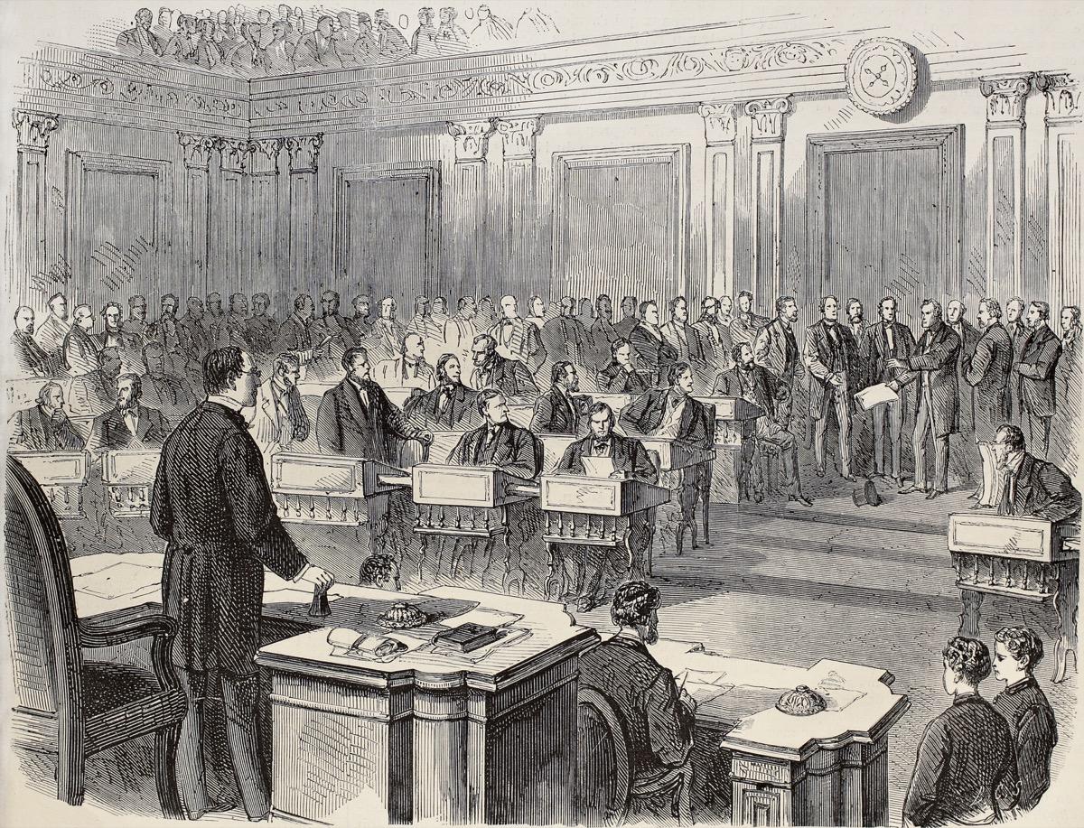 Impeachment trial of Andrew Johnson