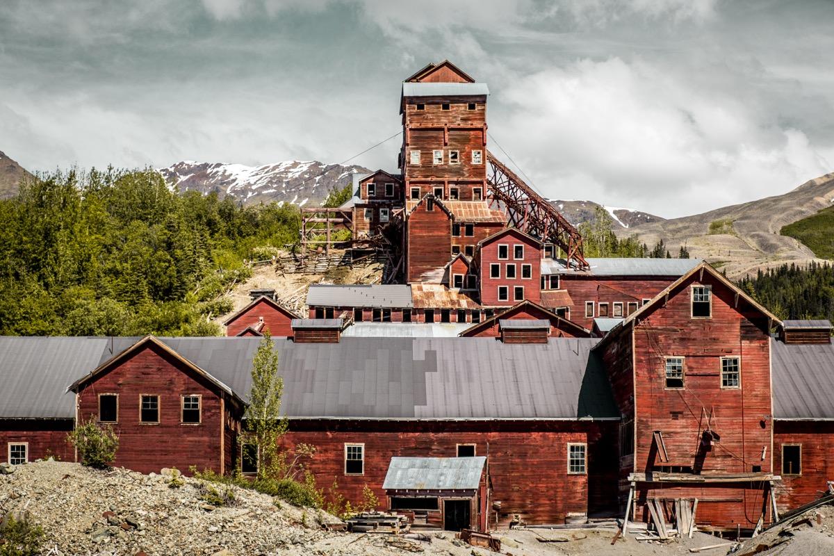 Kennecott Mines Alaska creepiest abandoned buildings