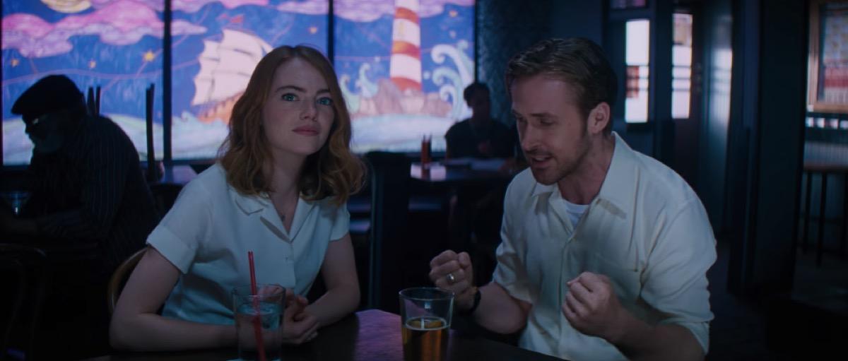 Movie clip from La La Land movie Emma Stone