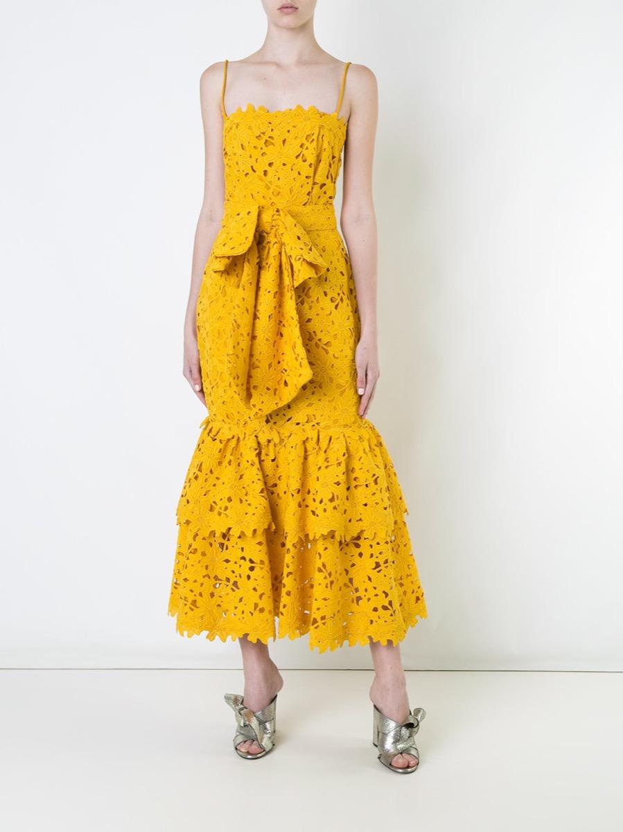 lace dress - farfetch