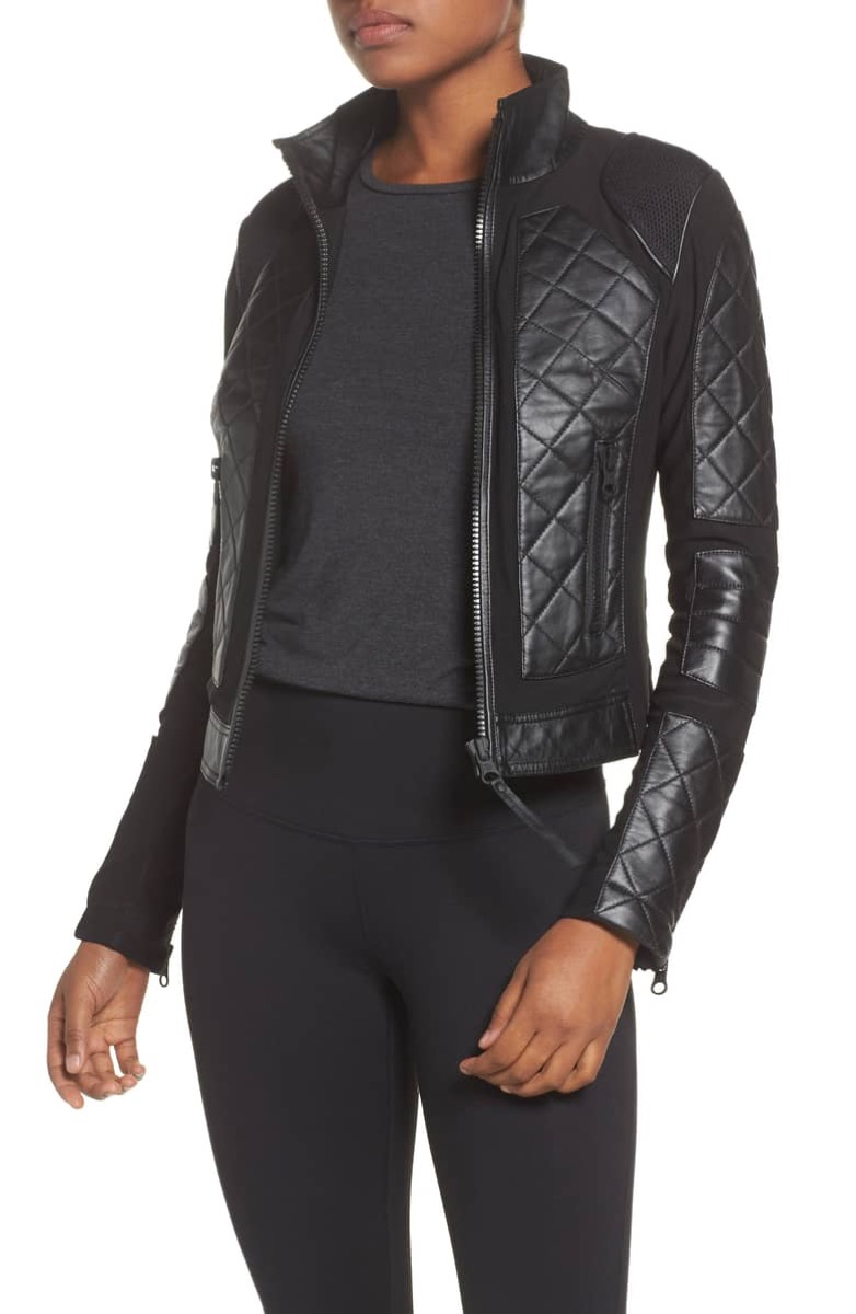 leather jacket - nordstrom