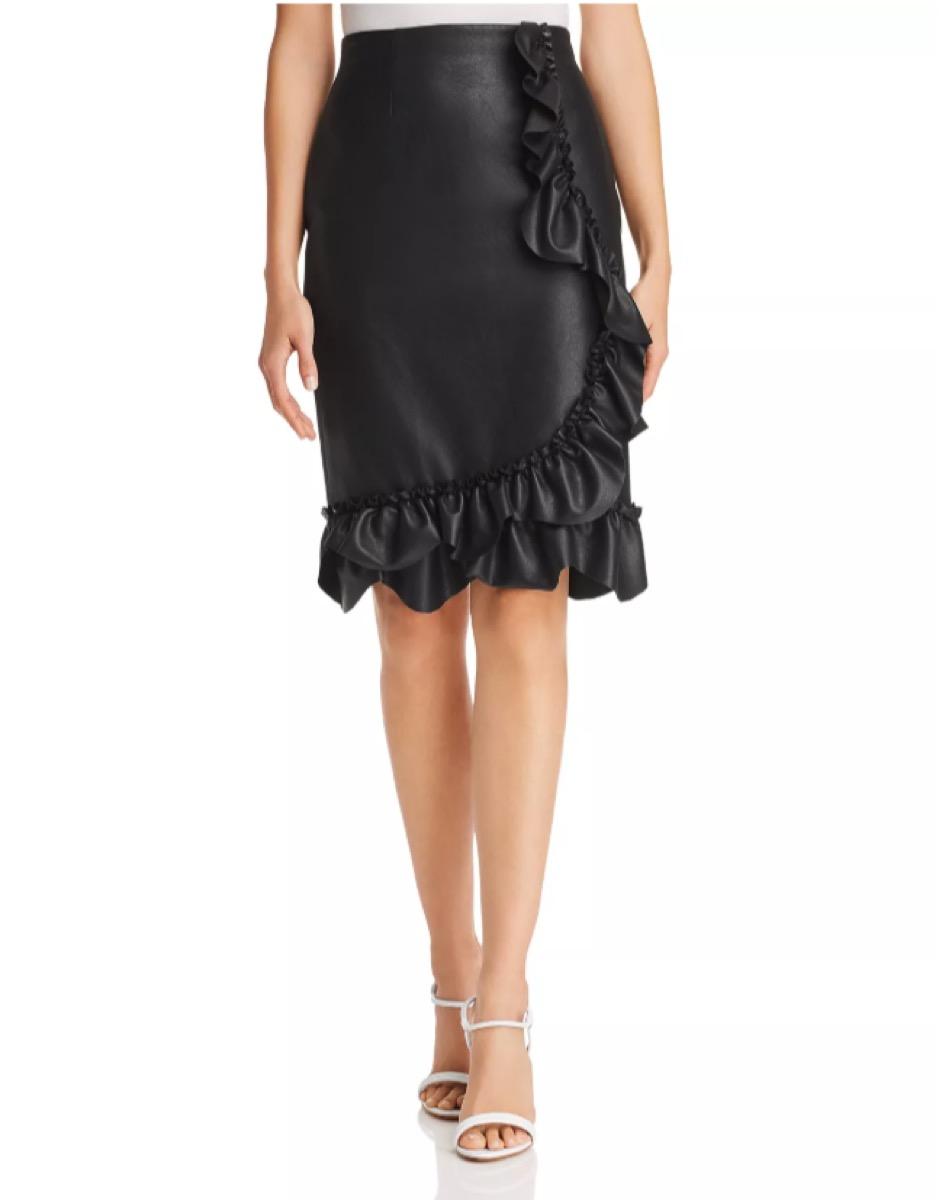 leather skirt - bloomingdales