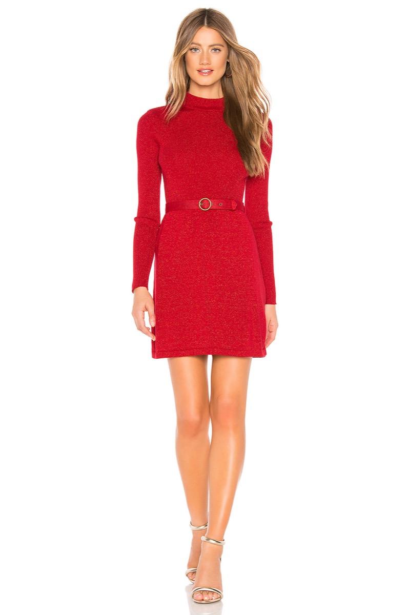 little red dress - revolve