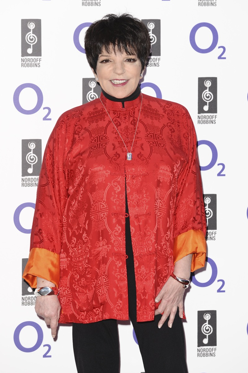 Liza Minelli arrives for the Silver Clef Awards 2011 at the Park ane Hilton, London. 01/07/2011 Picture by: Steve Vas / Featureflash - Image