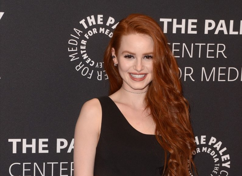 """vegan celebrities - LOS ANGELES - APR 27: Madelaine Petsch at the """"Riverdale"""" Screening and Conversation at the Paley Center for Media on April 27, 2017 in Beverly Hills, CA - Image"""