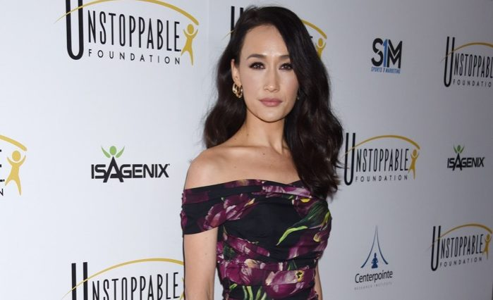 vegan celebrities - BEVERLY HILLS - MAR 25: Maggie Q arrives to the 8th Annual Unstoppable Foundation Gala on March 25, 2017 in Beverly Hills, CA - Image