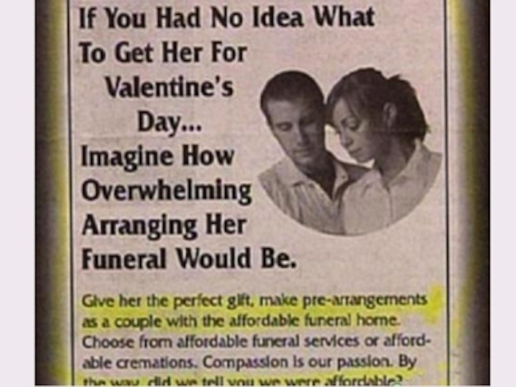 terrible vday gifts ideas
